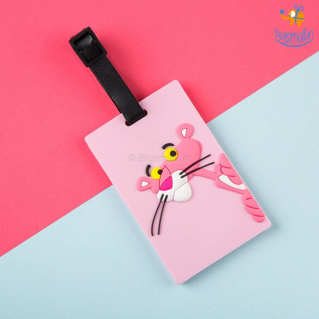 Pink Panther Luggage Tag - bigsmall.in