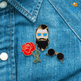 Lapel Pin Set For Him - Set Of 3 - bigsmall.in