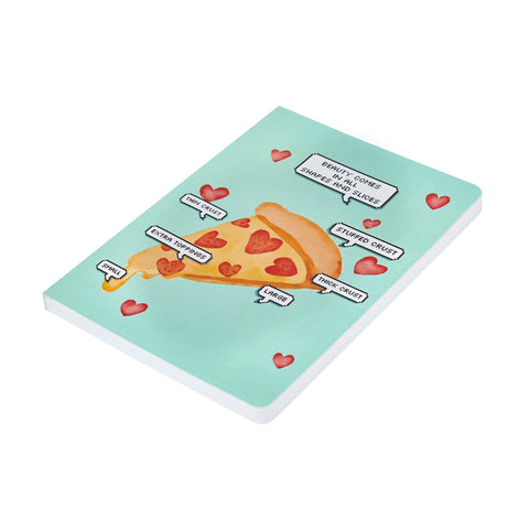 Pizza Love Notebook - bigsmall.in