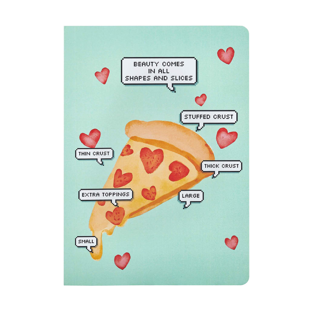 Pizza Love Notebook