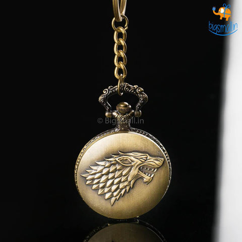 Game of Thrones Pocket Watch Keychain - bigsmall.in