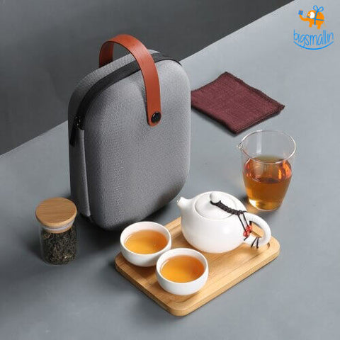 Portable Japanese Teapot Kit
