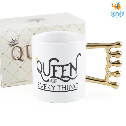 Queen of Everything Mug - bigsmall.in