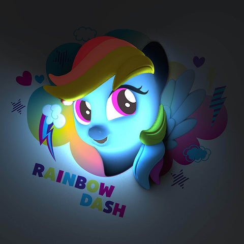 3D My Little Pony Wall Lamp