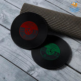 Record Coasters - Set of 2 - bigsmall.in