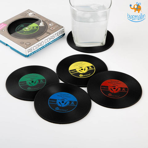 Record Coasters - Set of 2