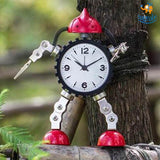 Robot Desk Alarm Clock