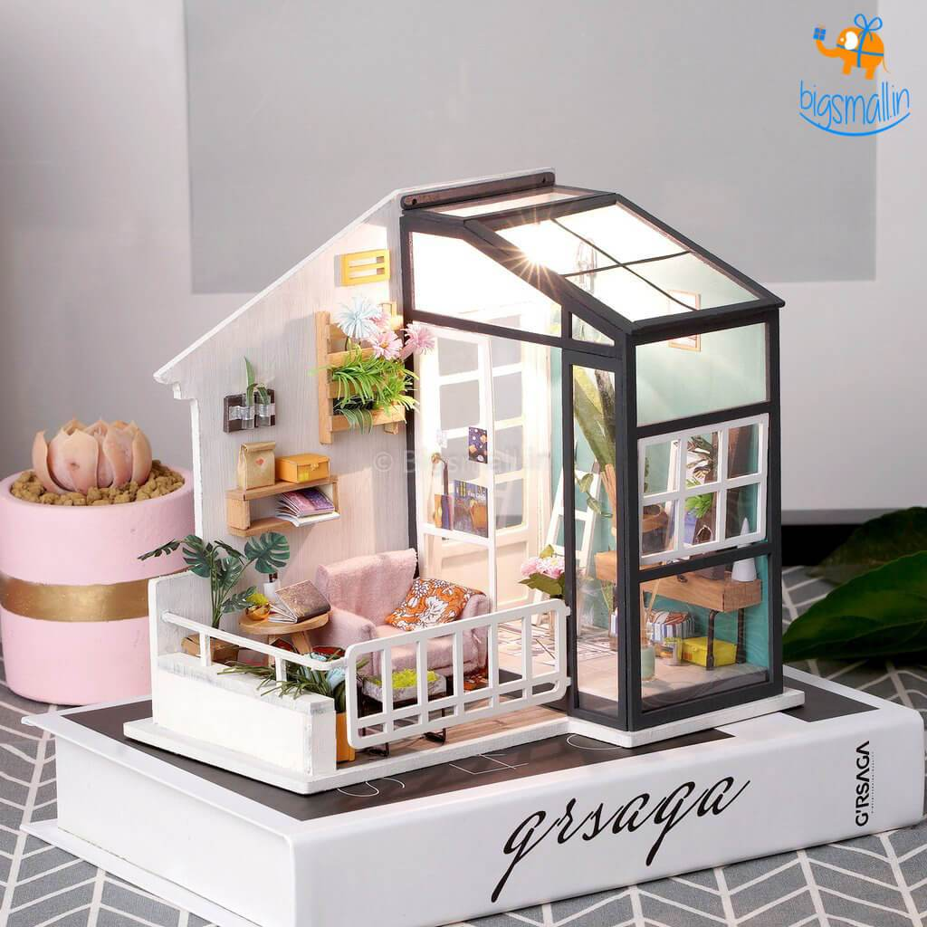 DIY Miniature House - Balcony Daydreaming - bigsmall.in