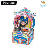 DIY Music Box Wooden Puzzle - Amusement Park - bigsmall.in
