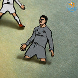 Ronaldo Lapel Pins - Set of 2