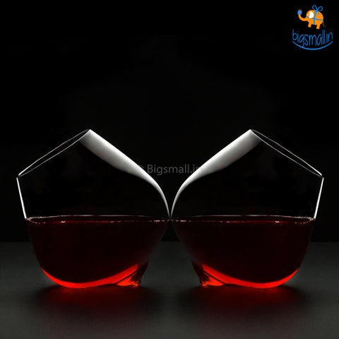 Rotating Glass Cups
