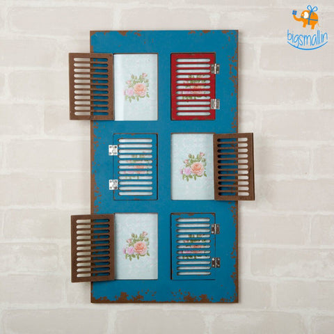 Vintage Window Photo Frame