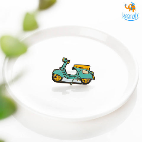 Scooter Lapel Pin