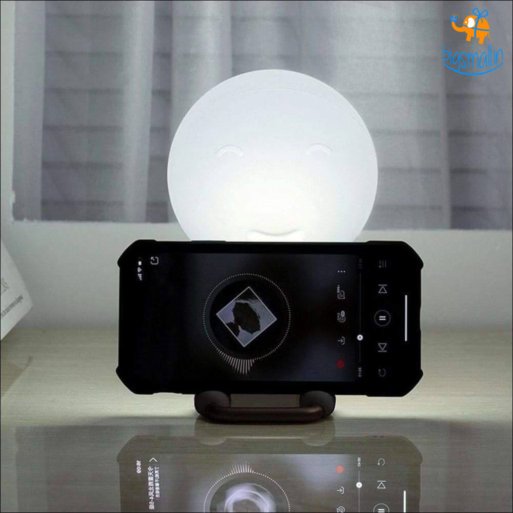 Silicone Night Light with Phone Stand