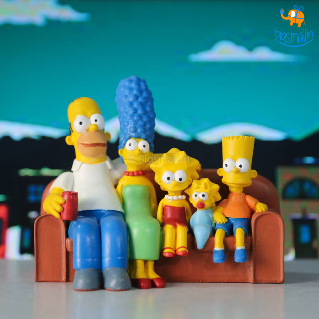 The Simpsons Family Action Figure