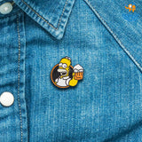 The Simpsons Lapel Pin - bigsmall.in