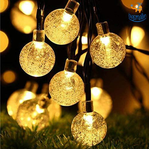 Snow Globe String LED Lights