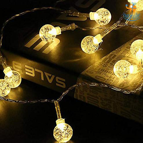 Snow Globe String LED Lights - bigsmall.in