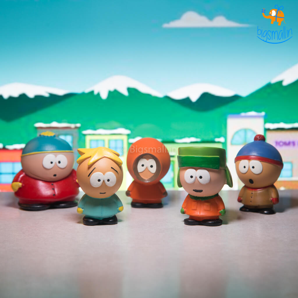 South Park Action Figures - Set of 5
