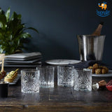 Spirits of Tuscany Crystal Glasses - Set of 4 - bigsmall.in