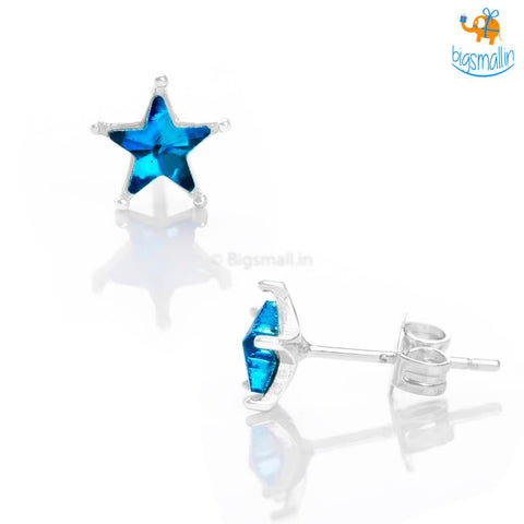 Star Shaped Ear Studs - bigsmall.in
