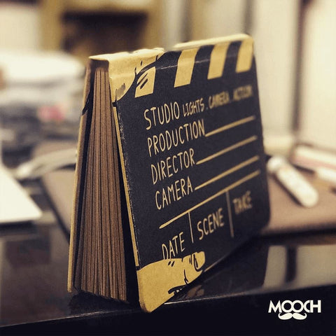 Movie Clapboard A6 Notebook With Elastic - bigsmall.in