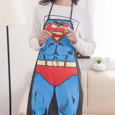 Superhero Apron - bigsmall.in