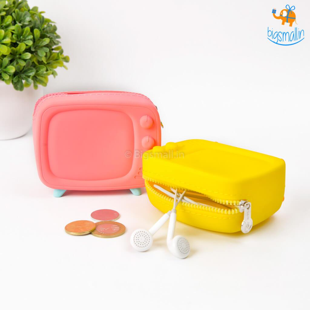 Retro TV Coin Purse - bigsmall.in