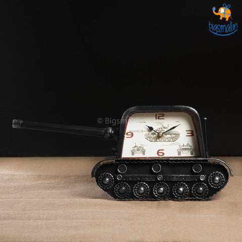 Tanker Desk Clock - bigsmall.in