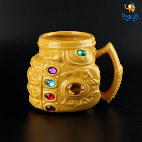 Infinity War Gauntlet Mug - bigsmall.in