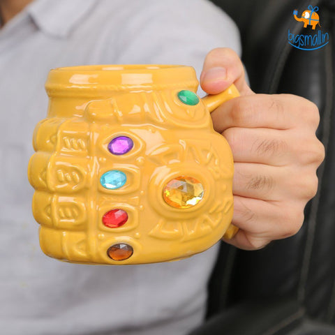Thanos Gauntlet Mug Infinity War - bigsmall.in