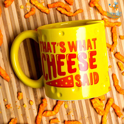Cheesy Delights 3D Coffee Mug