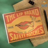 Safety Matches Scrapbook