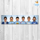 World Cup Captains Laminated Poster - bigsmall.in