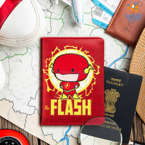The Flash Passport Holder - bigsmall.in
