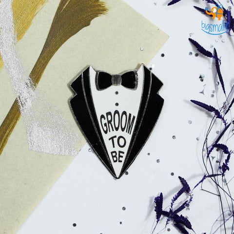 Groom To Be Lapel Pin - bigsmall.in