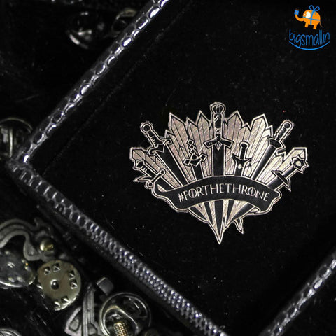 For The Throne Lapel Pin - bigsmall.in