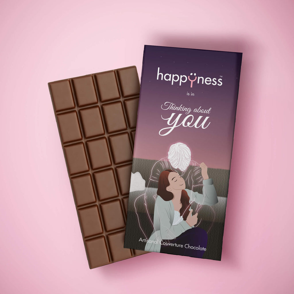 Thinking About You Handmade Chocolate Bar