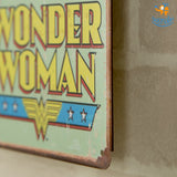Wonder Woman Metal Hanging Board - bigsmall.in