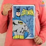 Vintage Batman Tin Hanging Board - bigsmall.in