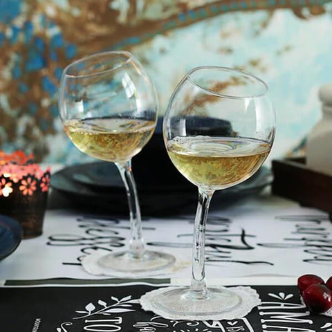 Tipsy Glasses - Set of 2