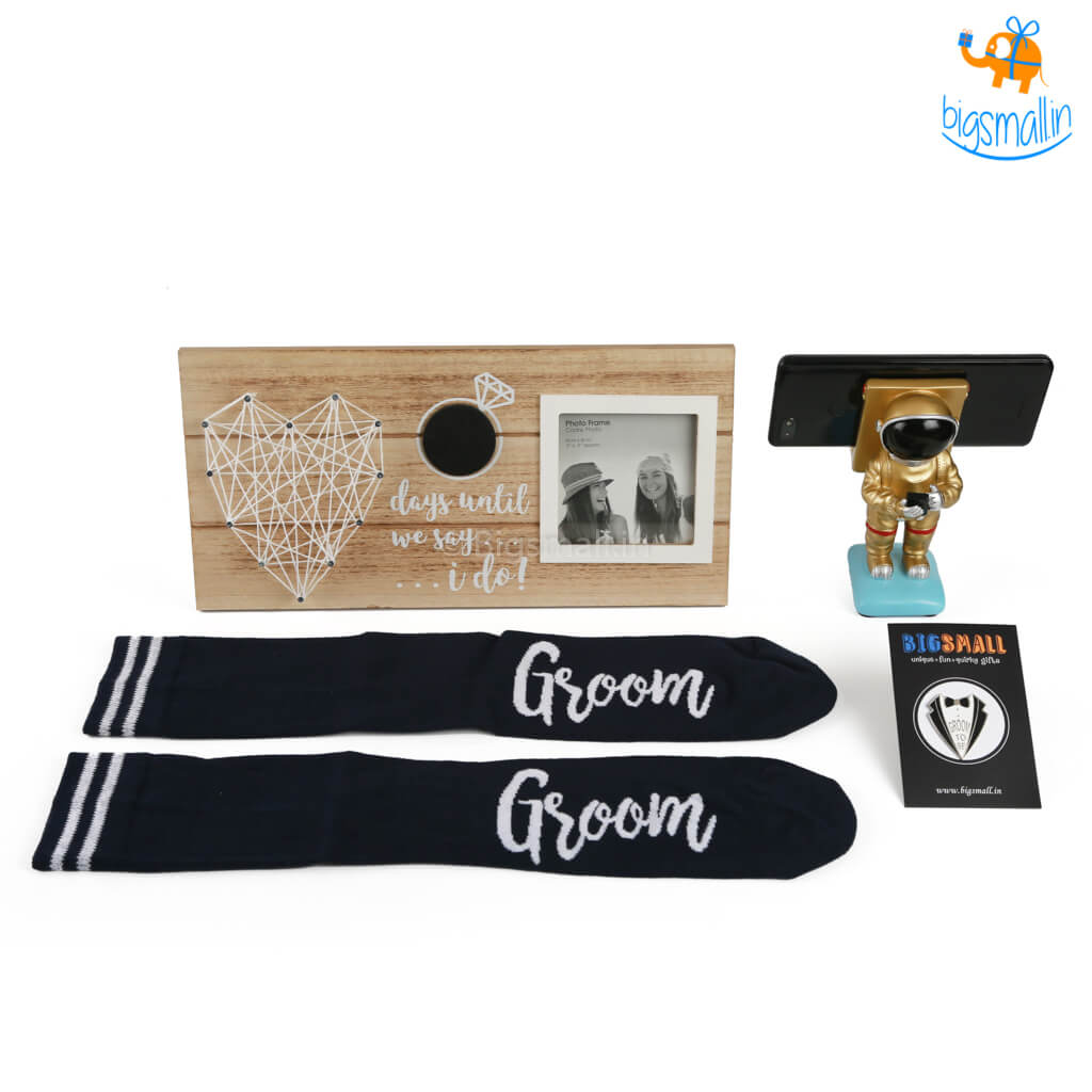 Groom To Be Gift Set - 4 Pcs