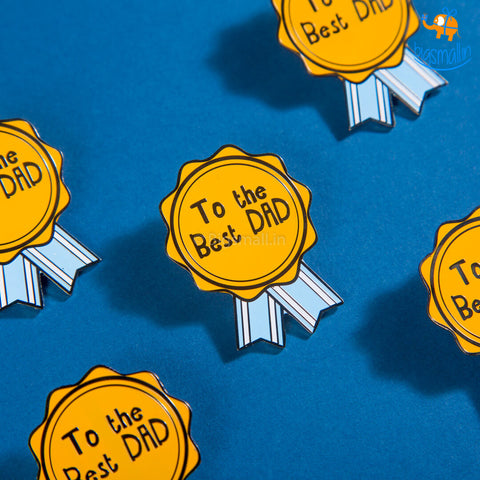 Best Dad Lapel Pin
