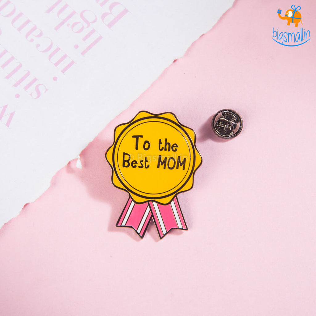 Best Mom Lapel Pin