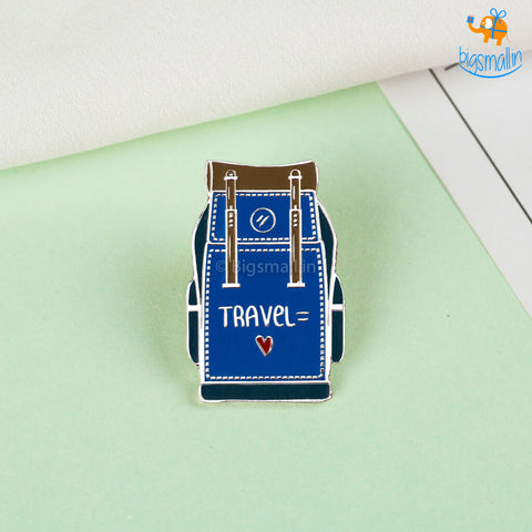 Travel Backpack Lapel Pin
