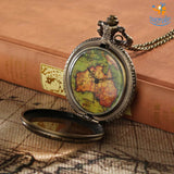 Vintage Traveller's Pocket Watch - bigsmall.in