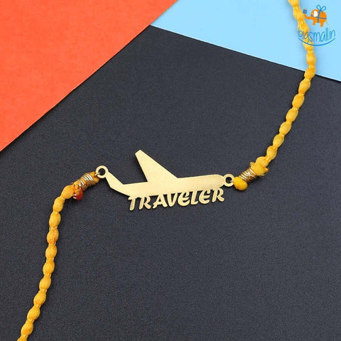 Traveler Rakhi Gift Set - bigsmall.in