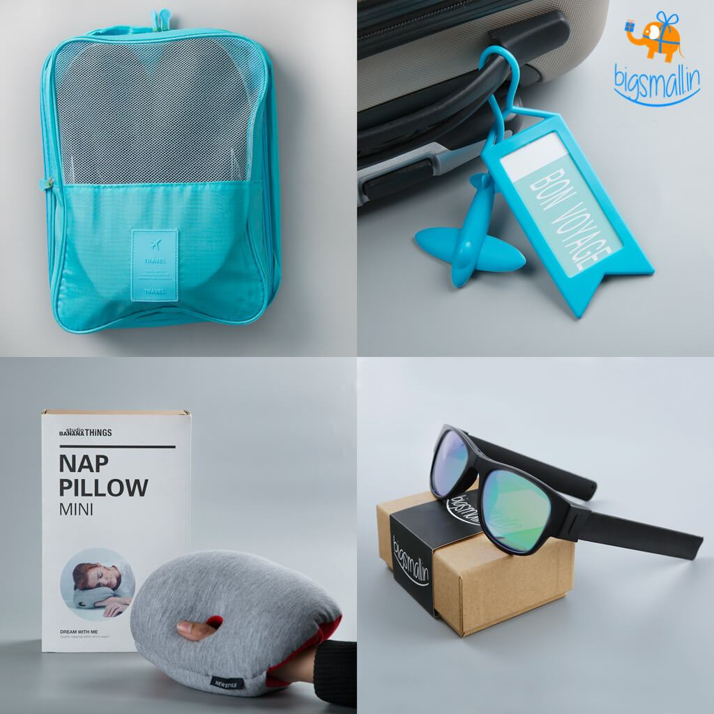 Travel Essentials Set - 4 pc