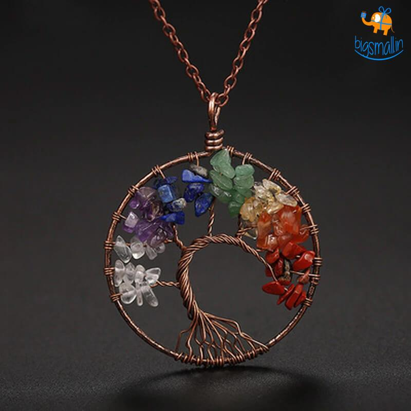 Wisdom Tree Necklace - bigsmall.in