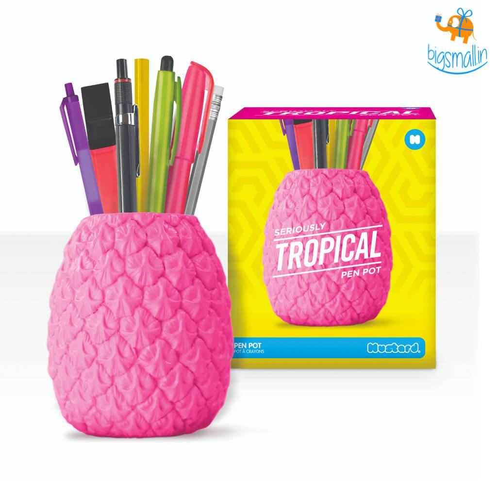 Tropical Stationery Pot - bigsmall.in